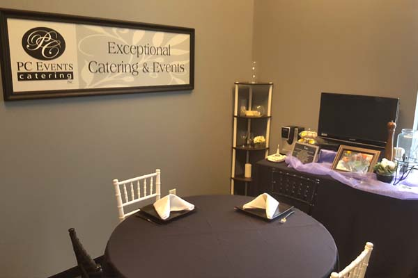inside of PC Events catering in Powell OH