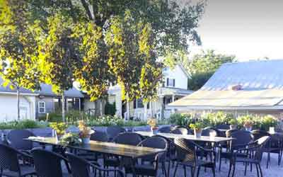 Forgensen Farms wedding catering facility outdoor wedding