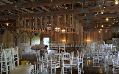 Forgensen Farms wedding catering facility