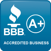 BBB A+ award for catering