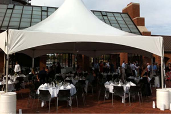 PC Events Catering for a tent event in downtown columbus OH