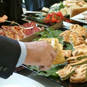 corporate catering in dubin ohio