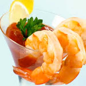 Chilled Iced Shrimp