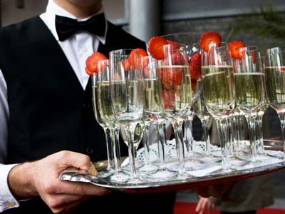 bar and beverage catered by PC Events Catering