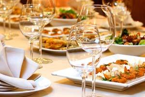 dinner menu catering