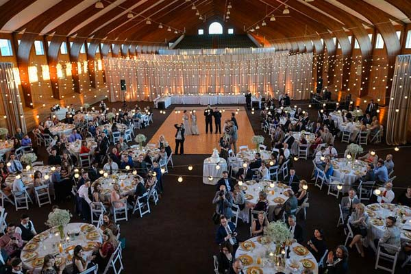 Iron Gate Equestrian Center wedding catering by PC Events