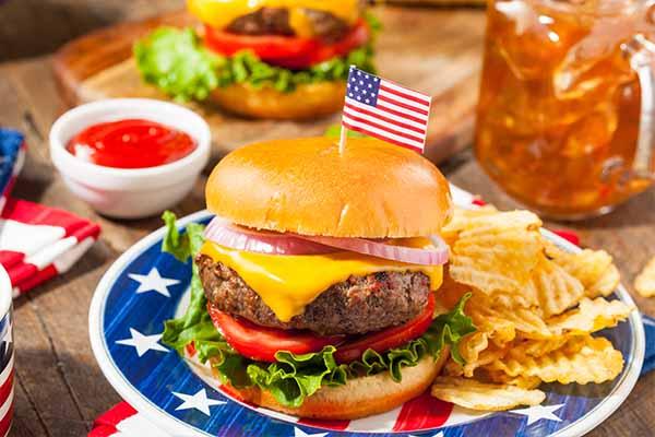 Hamburger for memorial day catering in Columbus OH