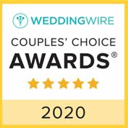 Wedding wire couples choice award