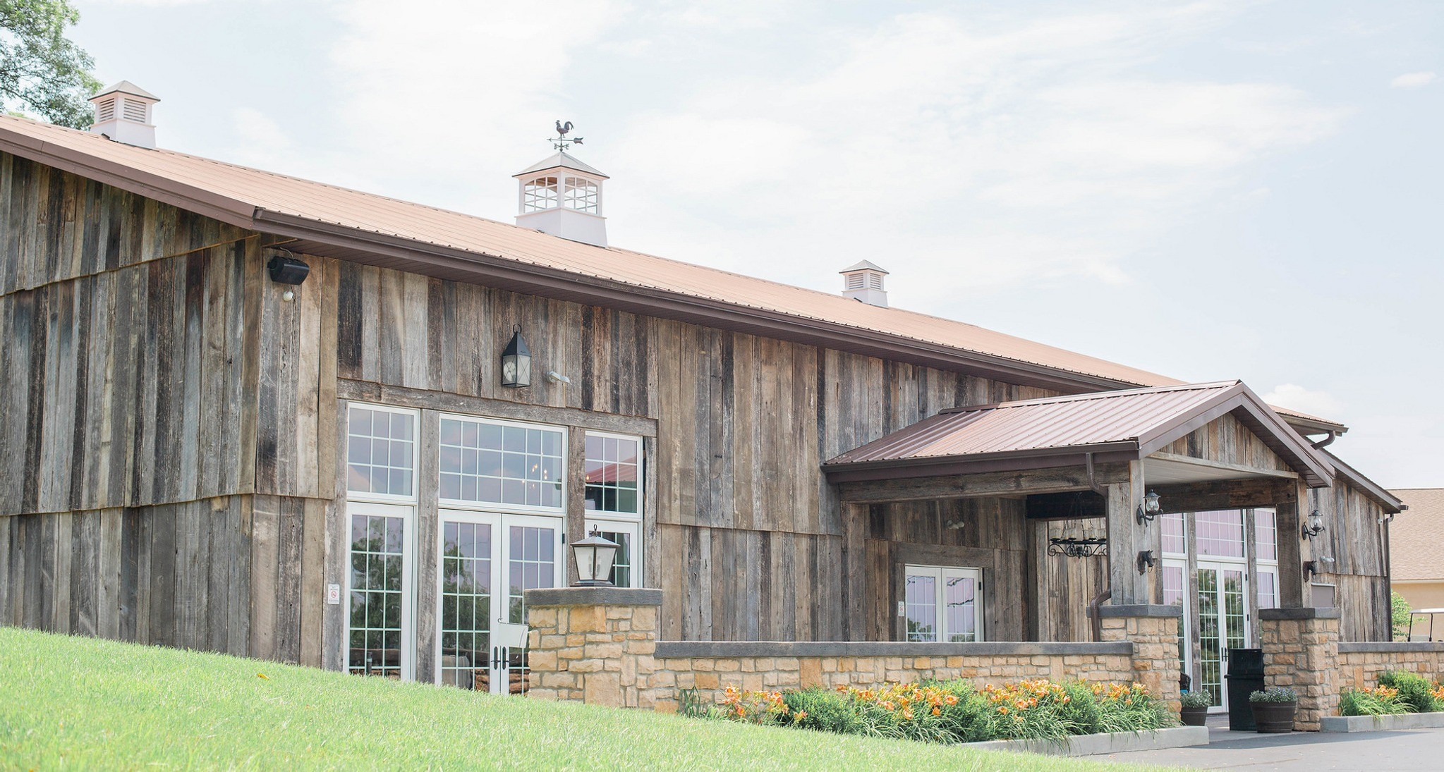 The Old Blue Rooster The Barn