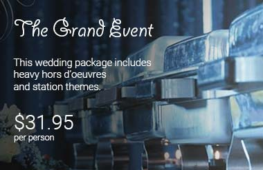 The Grand Event package in Columbus, Ohio