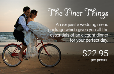 The finer things wedding package 2021