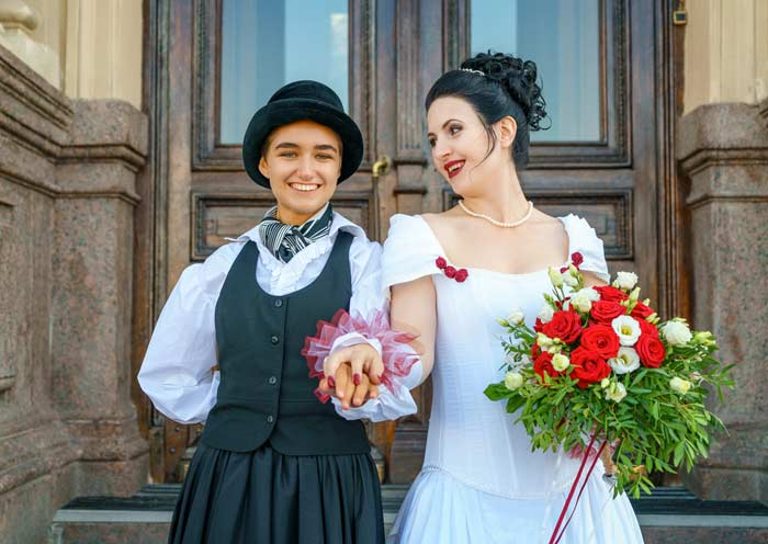 women who just got married
