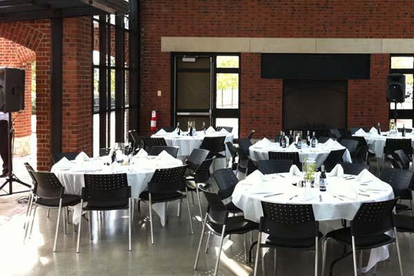 wedding setup in Worthington OH