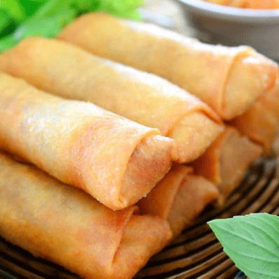 oriental spring rolls for catering