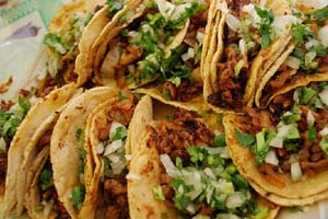themed mexican fiesta catering menu