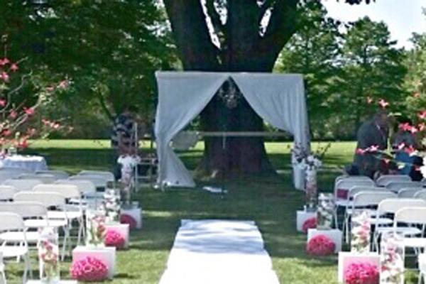 York Golf Club wedding